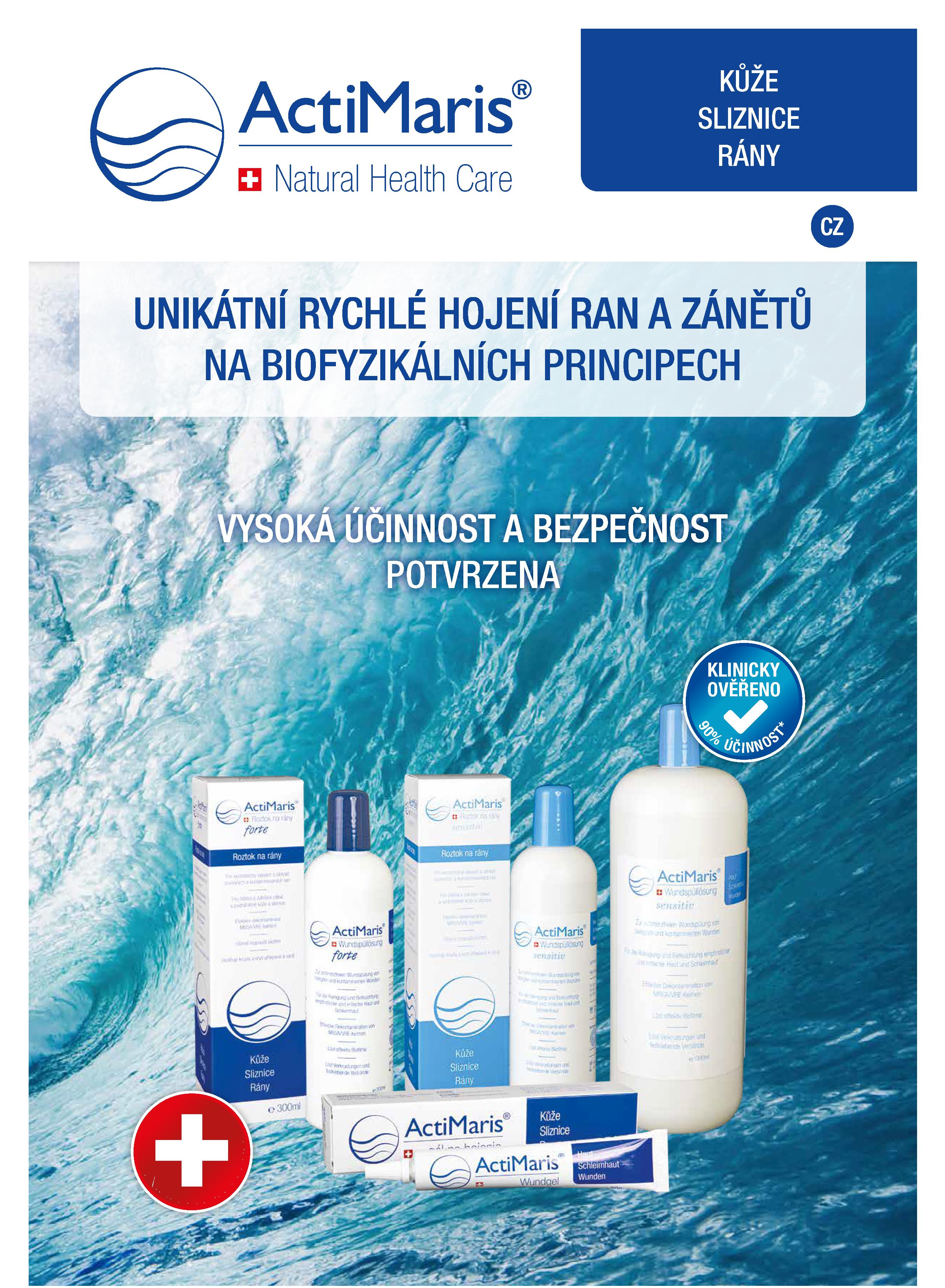 Brožura odborná veřejnost úvodní strana