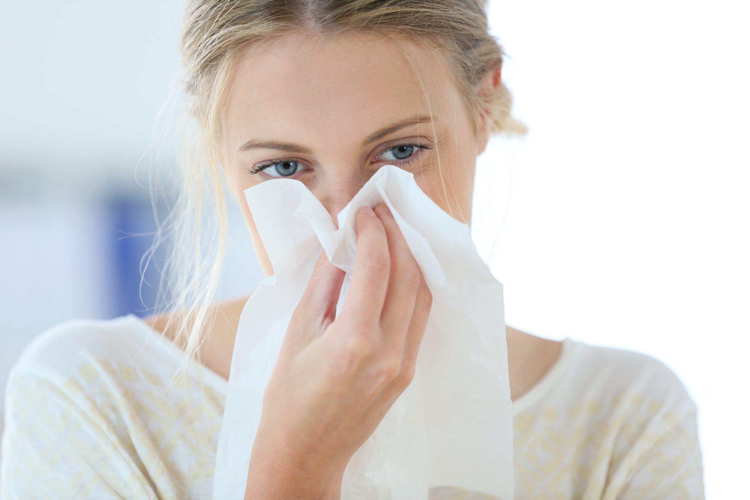 Záněty horních dýchacích a polykacích cest