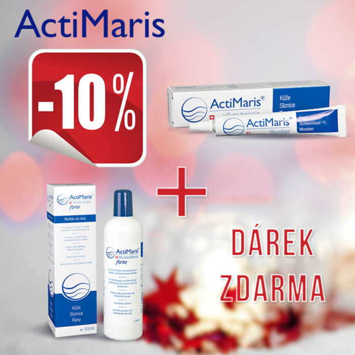 ActiMaris Gel + Forte roztok