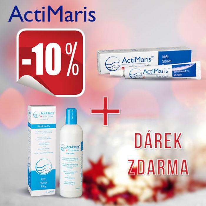 ActiMaris Gel + Sensitiv roztok